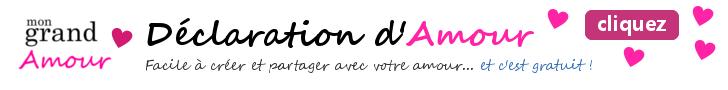 mon grand amour, declaration amour